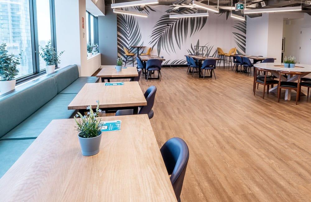 Workhaus 180 Dundas Street West - Lounge Tables