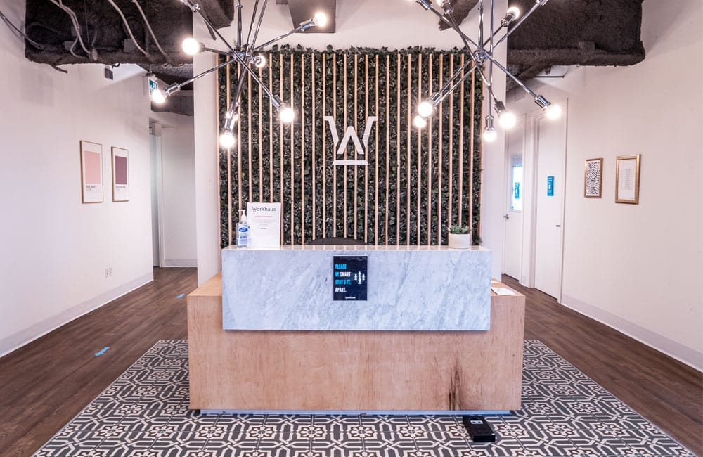 Workhaus 180 Dundas Street West - Reception Desk