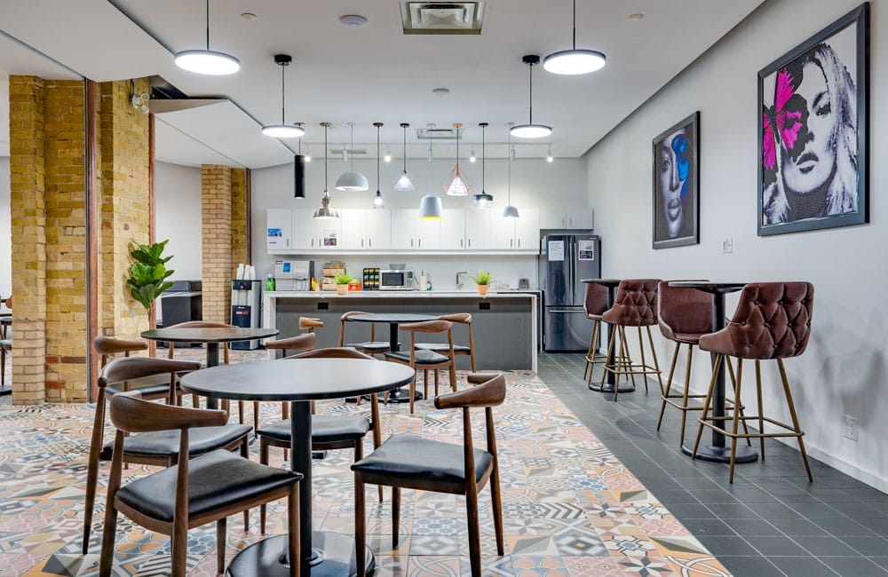 Workhaus 20 Richmond Street East - Kitchen
