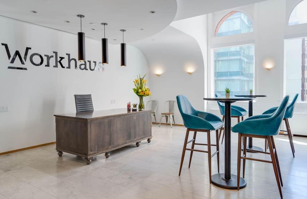 Workhaus 20 Richmond Street East - Reception Area