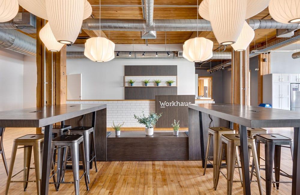 Workhaus 215 Spadina Avenue - Reception Desk