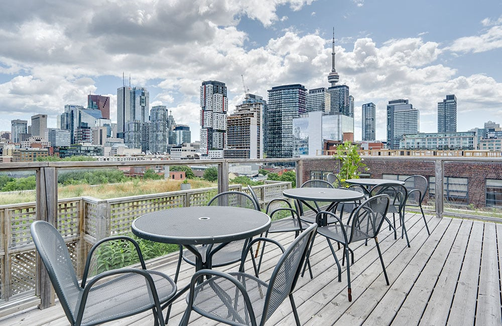 Workhaus 215 Spadina Avenue - Rooftop Patio