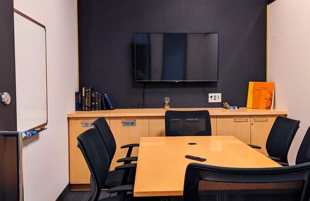 Workhaus 30 Wellington Street West - The Bullpen Meeting Room