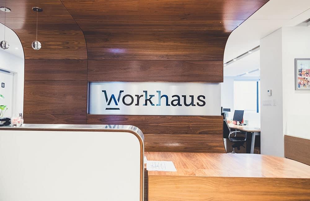 Workhaus 56 Temperance Street - Reception Desk