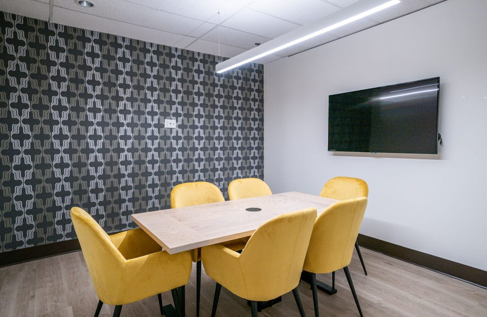Workhaus North York 4 Person Meeting Room