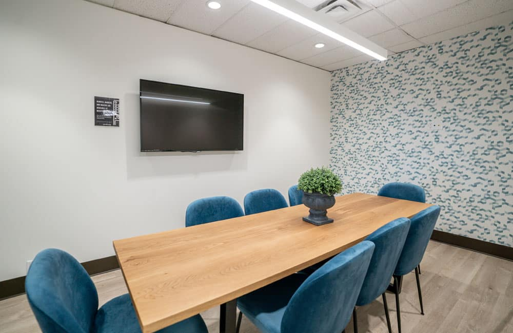 Workhaus North York 6 Person Meeting Room 2