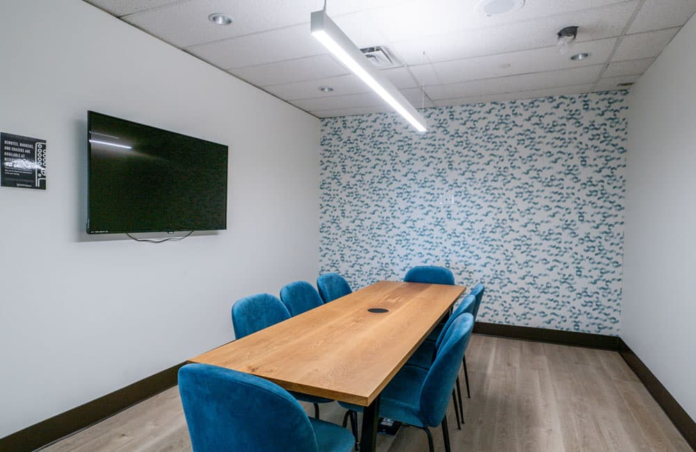 Workhaus North York 6 Person Meeting Room