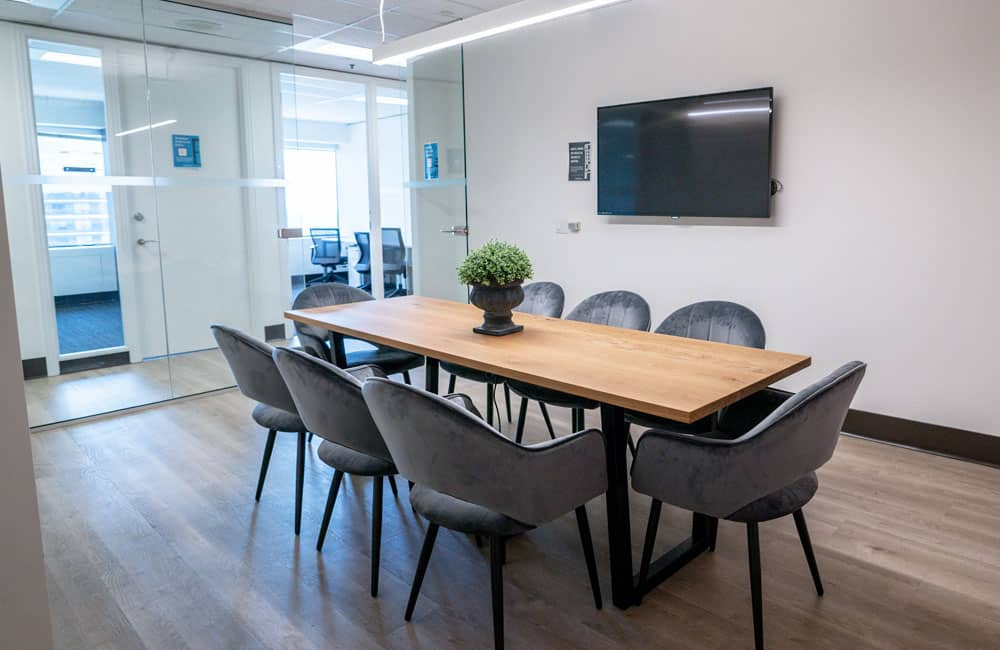 Workhaus North York 8 Person Meeting Room