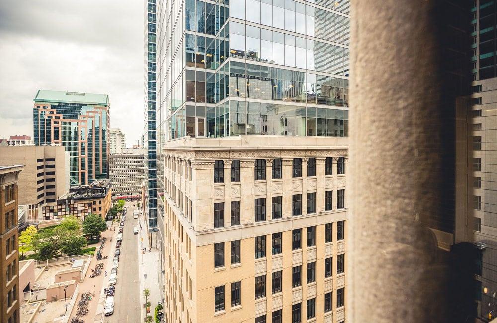 Workhaus 350 Bay Street - Window View